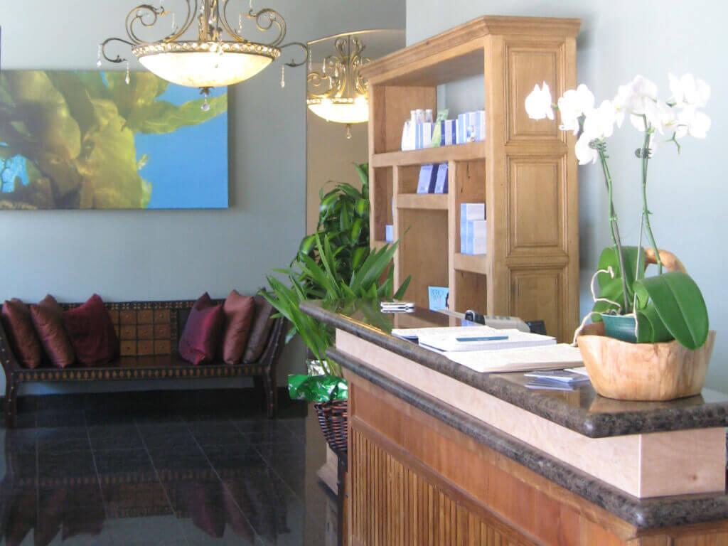 Oasis Nail Spa Interior